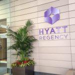 Hyatt Tysons Palms exterior plant installation