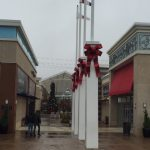 Tanger exterior holiday plant installation